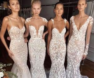 blanco, vestidos de novia, and boda image
