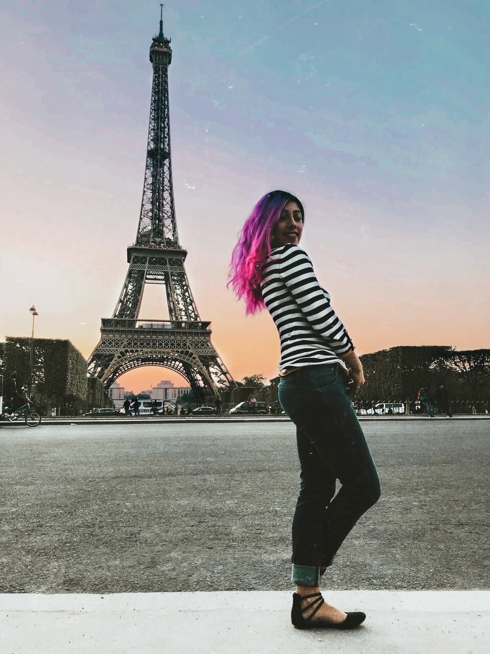 eiffel tower, parís, and france image