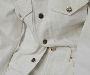 white denim jacket image