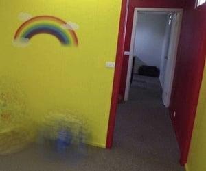 rainbow, room, and tumblr image