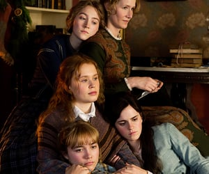 little women, emma watson, and Saoirse Ronan image