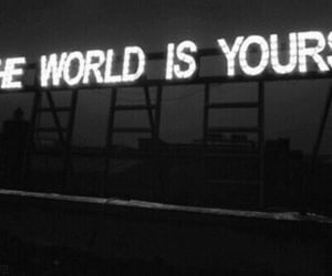 world, yours, and light image