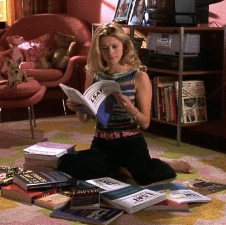 article, journaling, and legally blonde image