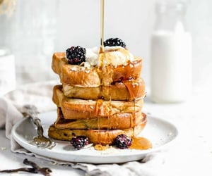 breakfast, food, and french toast image