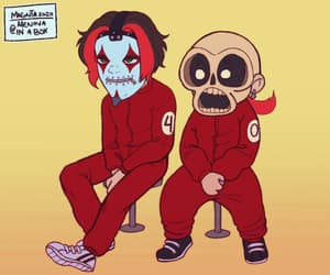 animated, slipknot, and too cute image