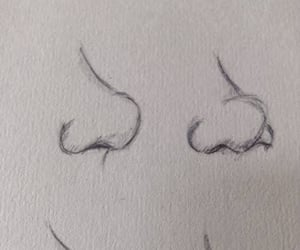 draw, sketch, and nose image