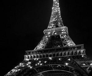 paris, france, and black image