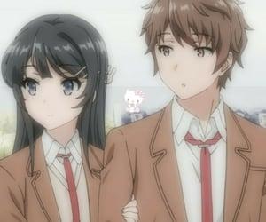anime, mai sakurajima, and bunny girl senpai image