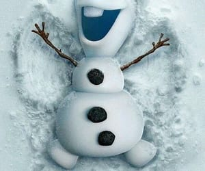 olaf, frozen, and wallpaper image
