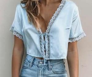 blue and fashion image