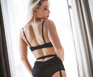 black, sexy, and blonde image