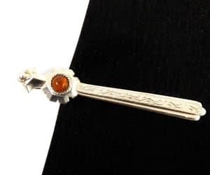 etsy, vintage tie clip, and tie bars image