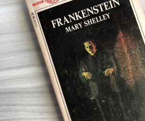 book, Frankenstein, and mary shelley image