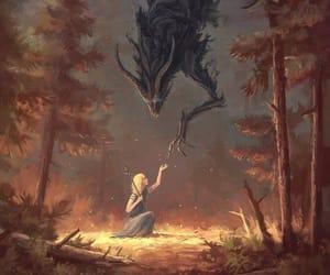 лес, магия, and красиво image