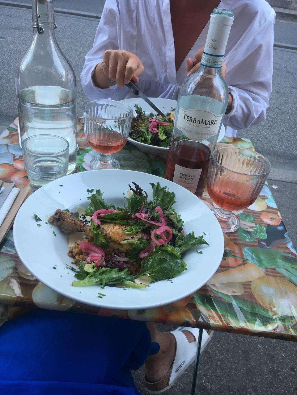 birkenstock, colours, and dinner image