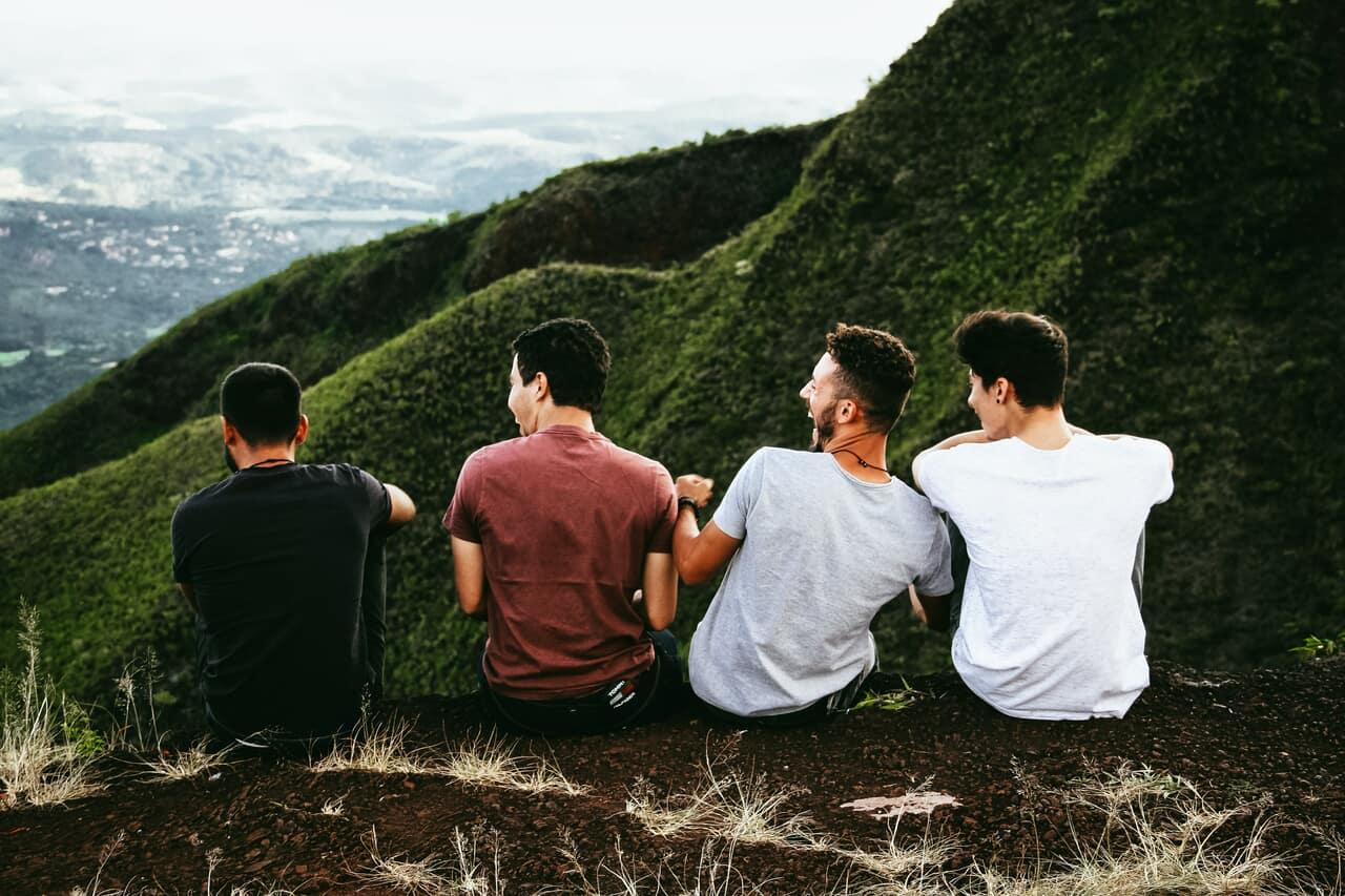 boys, man, and كتابة image