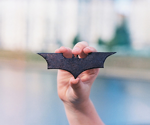batman, hand, and photography image