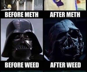 darth vader, funny, and star wars image