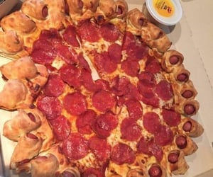 cheese, italian, and pizza image
