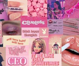 macbook, wallpaper, and pinkaesthetic image