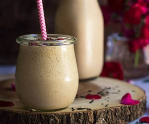 date, vegan, and coconut milk image