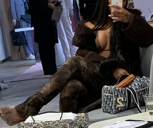 dior, fashion, and baddie image