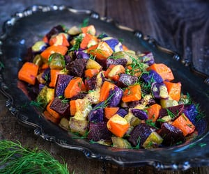 carrot, salad, and beetroot image