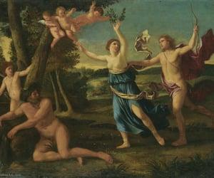 apollo, mythology, and Zeus image