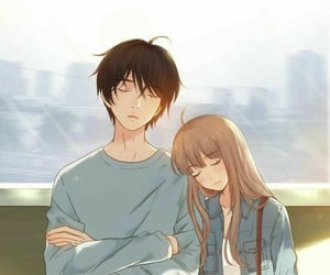 anime, illustrations, and anime couples image
