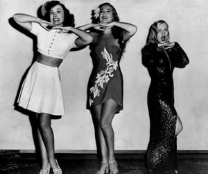 black and white, old hollywood, and classy image