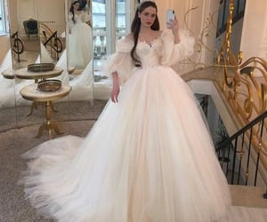 blanco, vestido, and boda image
