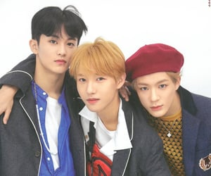 mark, jeno, and nct dream image