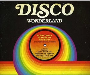 70s, disco, and music image