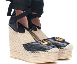 gucci and wedges image
