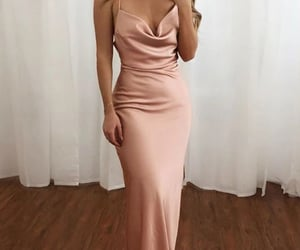 evening dress, prom dresses, and formal dress image