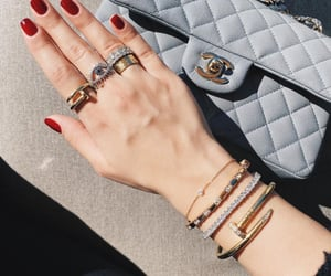 cartier, chanel, and diamonds image