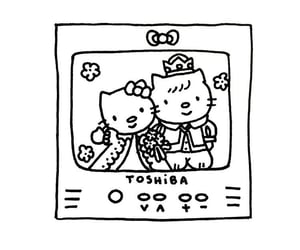 archive, doodle, and sanrio image