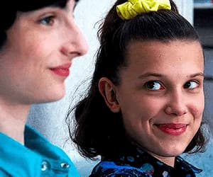 eleven, millie bobby brown, and mileven image