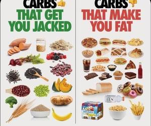 carbs, health, and vegetarian image