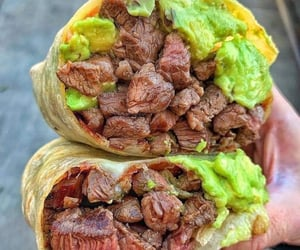 carne, food, and delicioso image