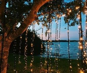 light, nature, and beach image