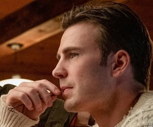 knives out and chris evans image