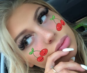 blonde, eyelashes, and filter image