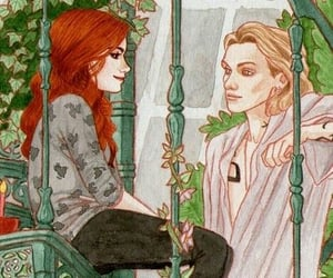 city of bones, clary and jace, and shadowhunters image