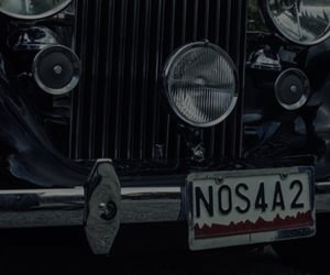 vintage car, not mine, and nos4a2 image