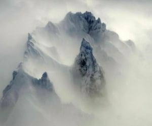 fog and mountain image