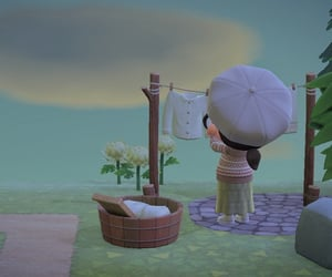 core, cute, and animal crossing image