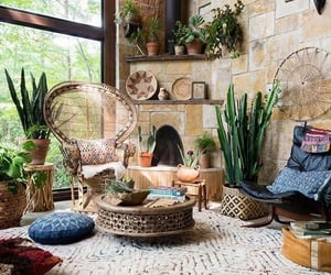 bohemian, interior, and home image