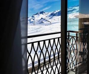 ski resort, Skiing, and snow image