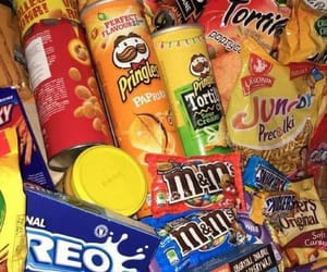 article, pringles, and snickers image